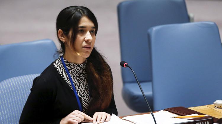 Una esclava sexual del Estado Islámico se dirige al mundo con una súplica