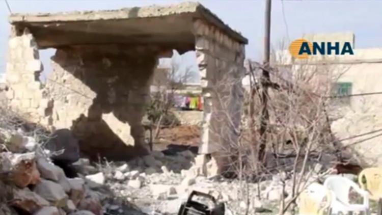 Reportan la muerte de civiles en Siria en medio de un bombardeo de Turquía a los kurdos
