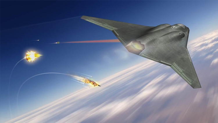 EE.UU. equipará sus aviones de guerra con láseres de combate