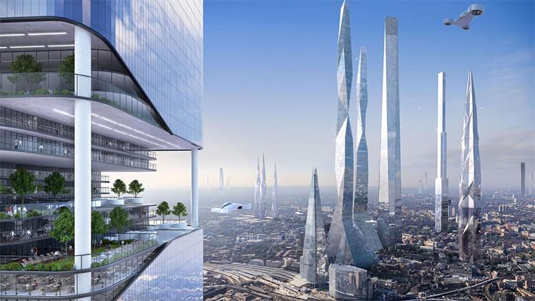 ¿'Rascacielos' subterráneos y comida imprimible? Así será la vida dentro de 100 años