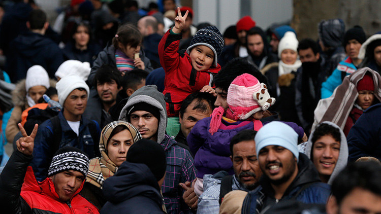 Una organización alemana crea un mapa con mitos sobre los refugiados en Europa