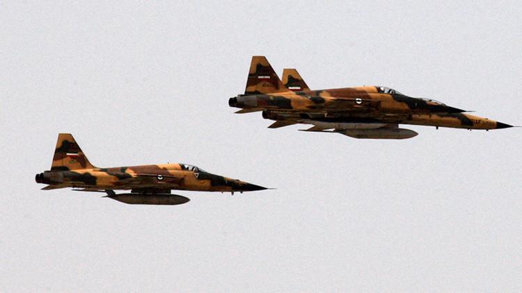 Los aviones de Irán