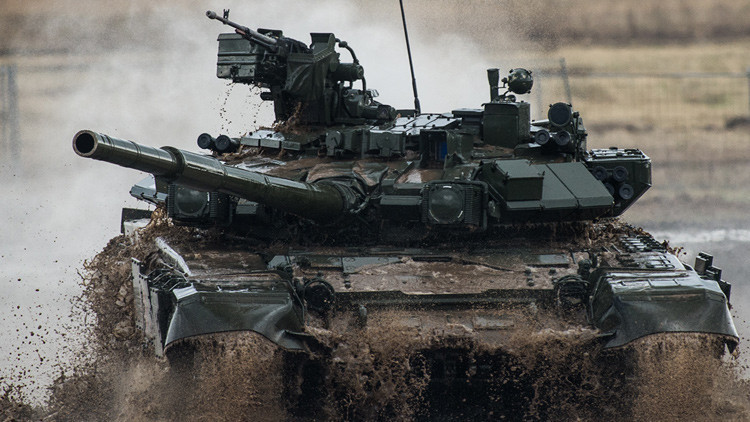 'The Times' destaca la eficacia de los supertanques rusos T-90 en Siria (Video)