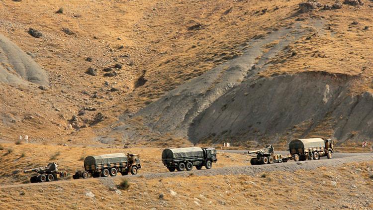 """""""La artillería turca ataca el territorio sirio con el permiso de EE.UU."""""""