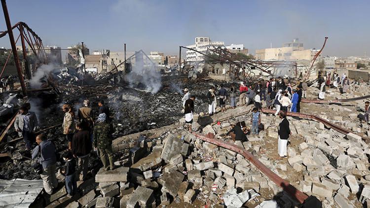 """HRW: """"Arabia Saudita ataca escuelas y hospitales yemeníes con bombas de racimo de EE.UU."""""""