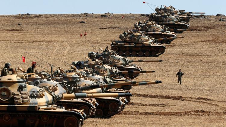 "Turquía busca crear una ""línea segura"" de 10 kilómetros dentro de Siria"