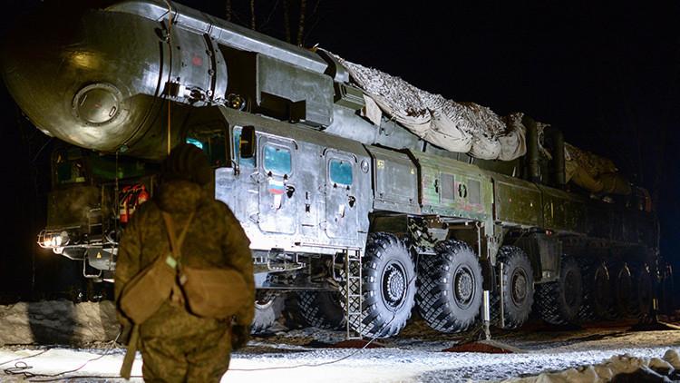 Tropas de misiles estratégicos rusas se entrenan para rechazar ataques subversivos