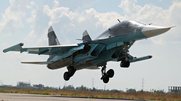 """Sukhoi: """"El operativo en Siria ayudará a mejorar los aviones de combate rusos"""""""