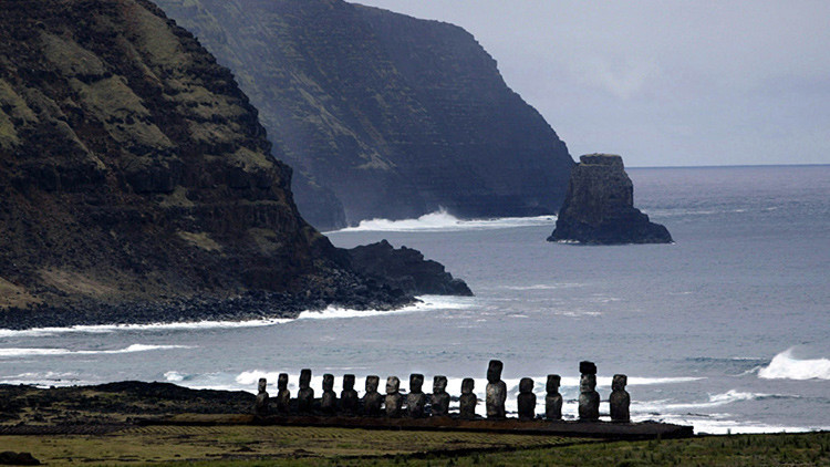 La civilización rapanui no se extinguió a causa de las guerras