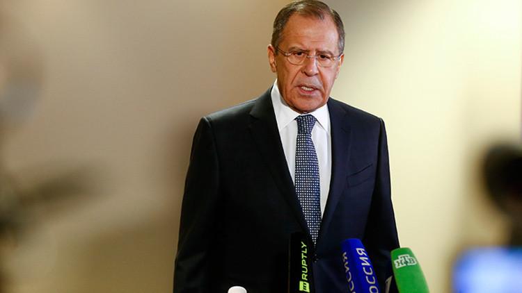 """Lavrov: """"El cumplimiento de los acuerdos de Múnich sobre Siria depende de EE.UU."""""""