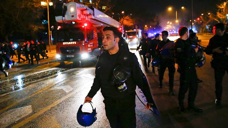 """Autoridades: La explosión en Ankara es """"un ataque terrorista"""""""