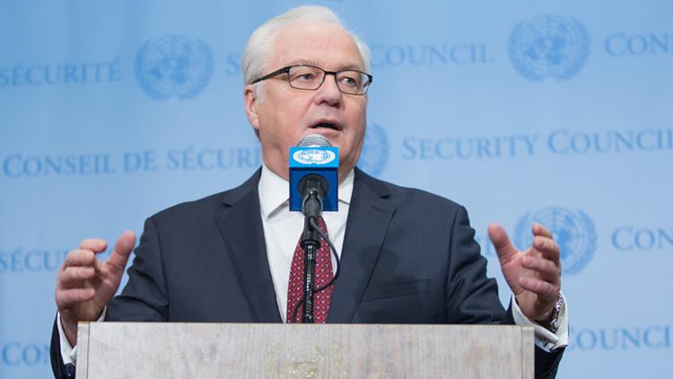 """Enviado ruso ante la ONU: """"Turquía podría estar preparando el envío de terroristas a Rusia"""""""