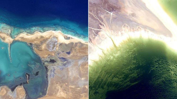 El color de la Tierra: un astronauta crea su propio arcoíris de lugares de nuestro planeta (fotos)