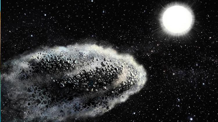 Destrucción de un meteorito / Imagen ilustrativa