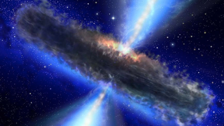 Un agujero negro 'se traga' la teoría general de la relatividad de Einstein