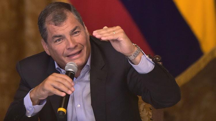 """Correa: """"Cuanto más rápido se halle un precio de equilibrio para el crudo, mejor para el planeta"""""""