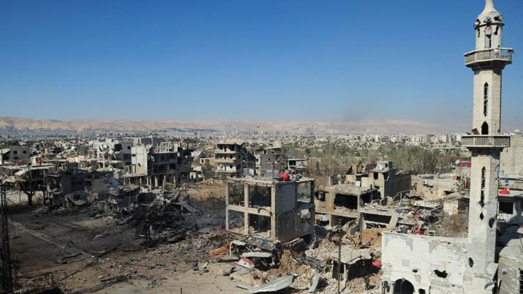 La guerra hecha fácil: un 'simple' diagrama en color explica el conflicto de Siria