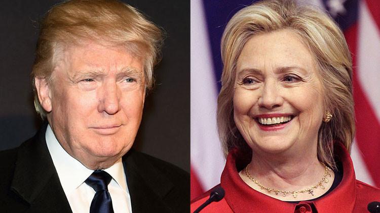 Carrera a la Casa Blanca: Clinton y Trump aprietan el paso en Nevada y Carolina del Sur