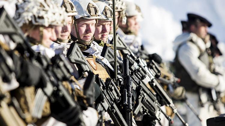 La OTAN entrena a las tropas del sur de Europa para batallas en el Subártico