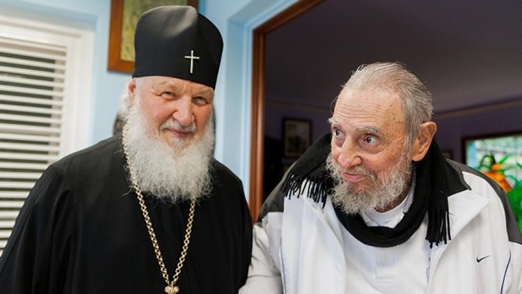 """Patriarca Kiril: Fidel Castro es una """"persona muy fuerte"""""""