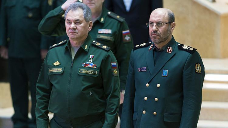 El ministro de Defensa ruso llega a Irán