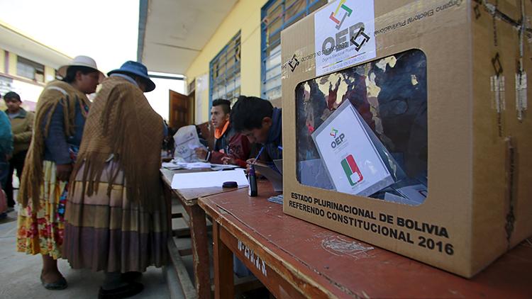 Resultados preliminares en Bolivia: lidera el 'No' a la reforma que permite la reelección de Morales