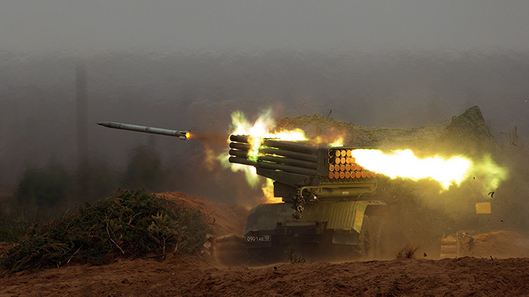 Los sucesores del lanzacohetes múltiple ruso Grad no darán ni una oportunidad a su enemigo