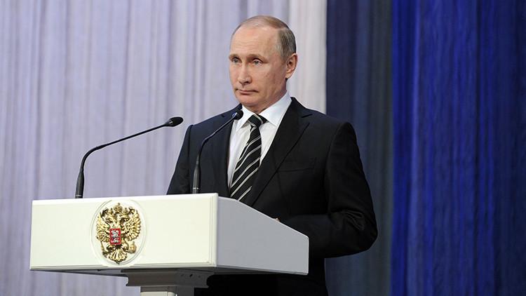 """""""Es un paso real para frenar el derramamiento de sangre"""": mensaje de Putin sobre el acuerdo sirio"""