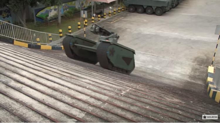 Video: Este mini tanque puede convertirse en el vehículo que quieras