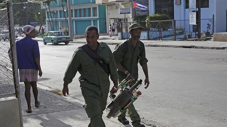 La Policía y el Ejército de Cuba ayudarán a combatir el virus del Zika