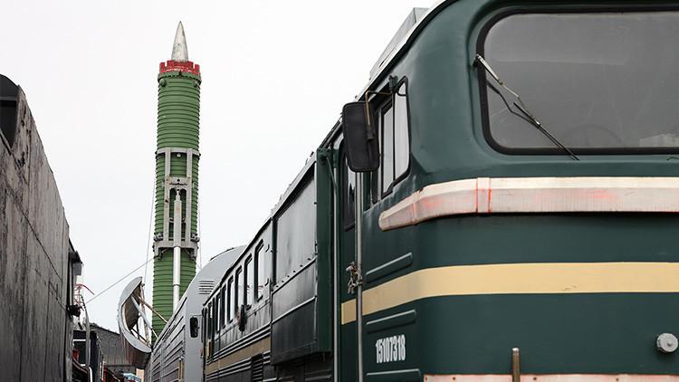 Rusia preparará los equipos militares de sus nuevos trenes con misiles balísticos