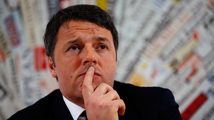 """Primer ministro italiano: """"Europa no funciona"""""""