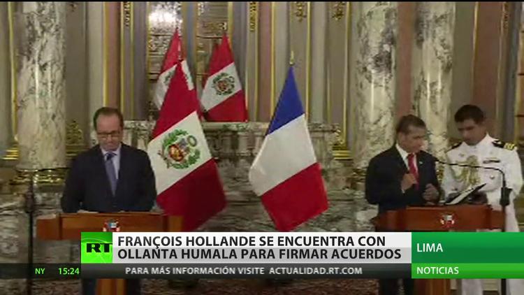 Perú y Francia firman varios acuerdos de cooperación