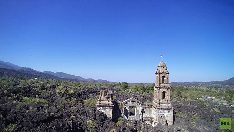 Video: La 'Pompeya mexicana', a vista de dron