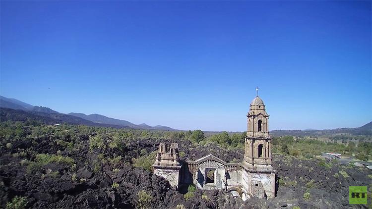 Video: La 'Pompeya mexicana', a vista de dron