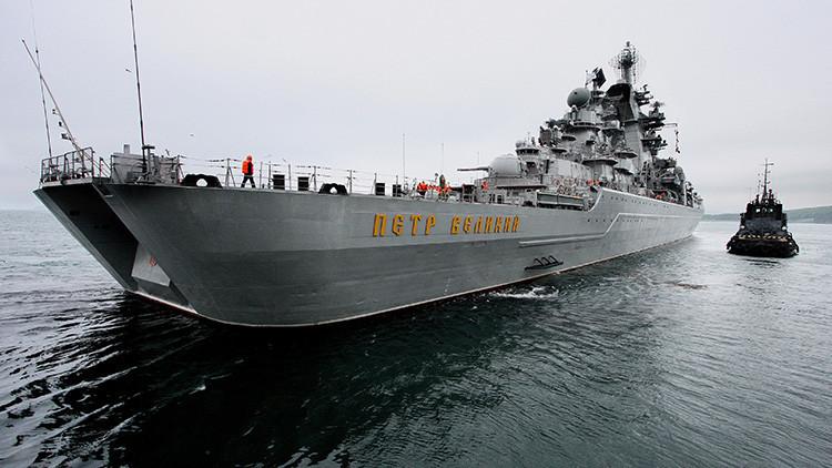 El cazador de portaviones ruso Piotr Veliki incorporará misiles hipersónicos