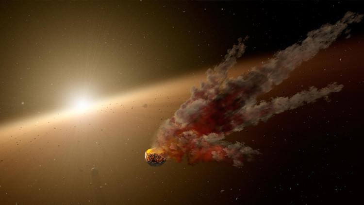 Científicos rusos 'revientan' un asteroide