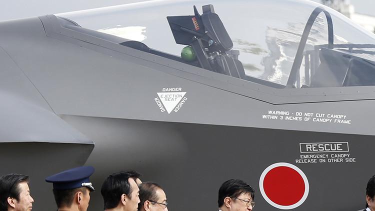 Tokio realiza una prueba terrestre de su primer caza furtivo