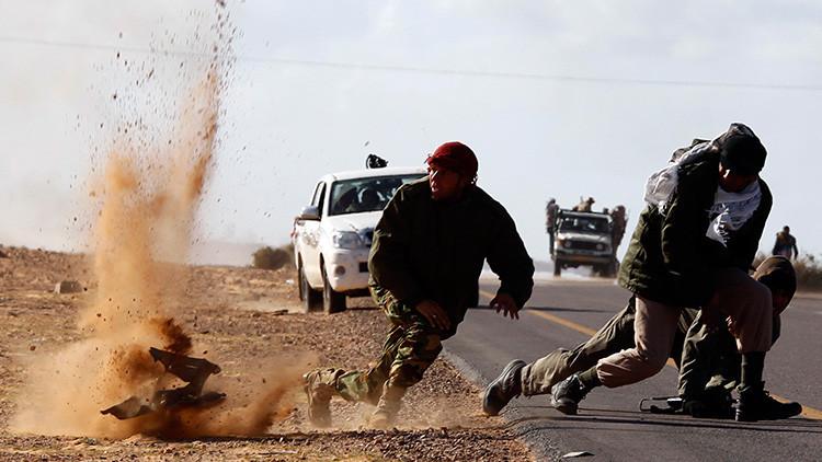 EE.UU. destruye Libia con sus bombardeos y ahora lamenta que es casi un estado fallido