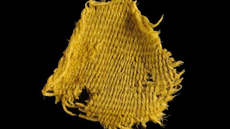 Hallan en Israel tejidos de la época de los reyes David y Salomón