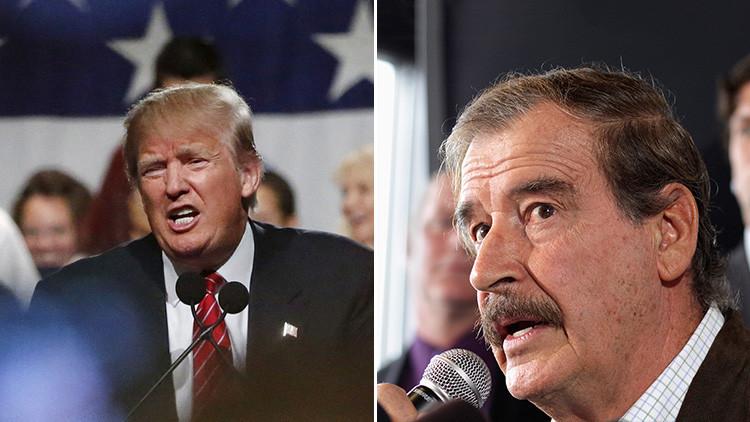 """""""No pienso pagar por ese puto muro"""": Vicente Fox arremete contra el """"egocéntrico"""" Donald Trump"""