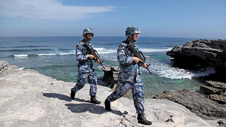 """China: """"EE.UU. es el verdadero promotor de la militarización en el mar de la China Meridional"""""""