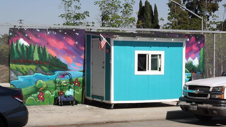 EE.UU.: Las autoridades de Los Ángeles confiscan unas viviendas precarias para personas sin hogar