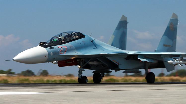 Cazas rusos protegen la entrega de ayuda humanitaria en Siria