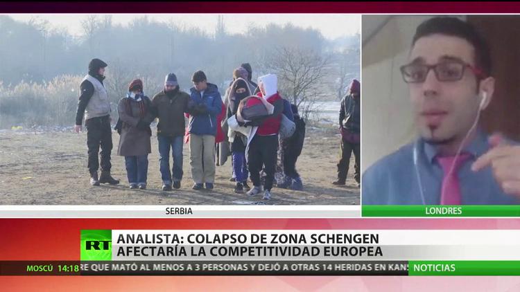 """""""El colapso de la zona Schengen afectaría a la competitividad europea"""""""