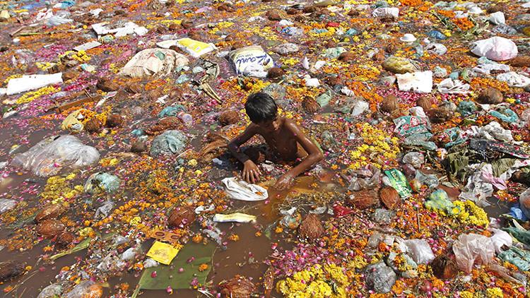 ¿Se quedará la India sin su 'río sagrado'?