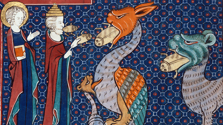 ¿Qué demonios es esa extraña criatura?: Adivine los animales pintados durante la Edad Media