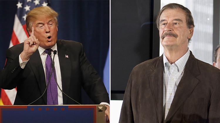 """Vicente Fox, sobre Trump: """"Me recuerda a Hitler"""""""