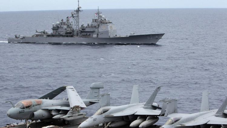 ¿Qué hace EE.UU. en el mar de la China Meridional?