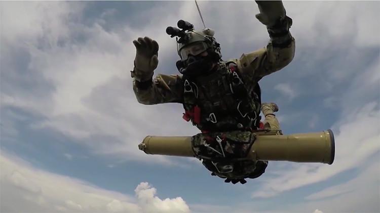 Los 'superman' rusos: Impresionante video de las fuerzas rusas de operaciones especiales